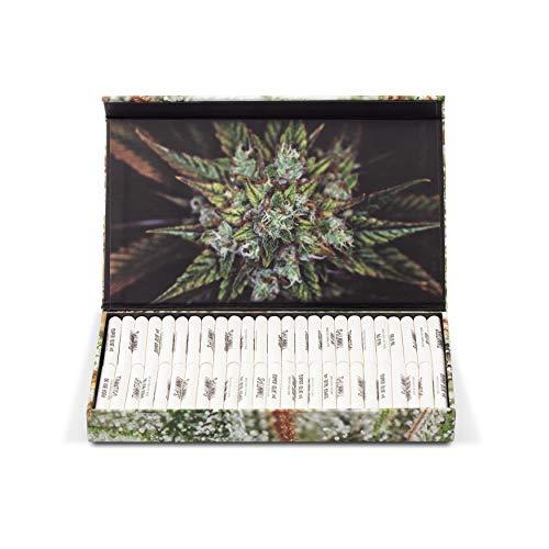 ShangHigh® Bambus Aktivkohlefilter Extra Slim   TimmTips   4 cm, ø6 mm (Organic Bambuskohle, 100er extra Slim)