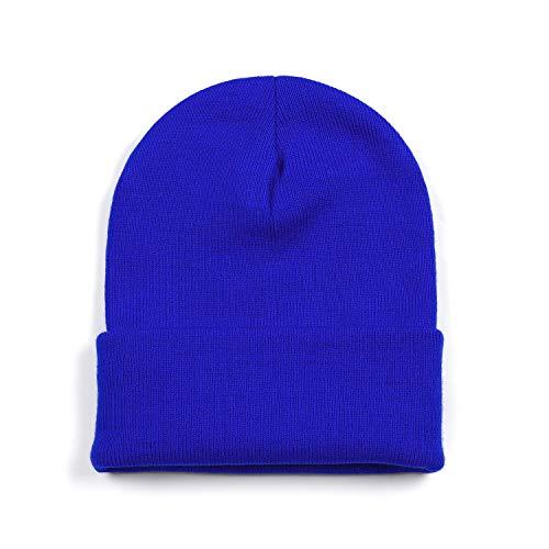 Ueither Unisex Beanie Mütze Strickmütze Weich Warm Wintermütze Cap für Herren und Damen