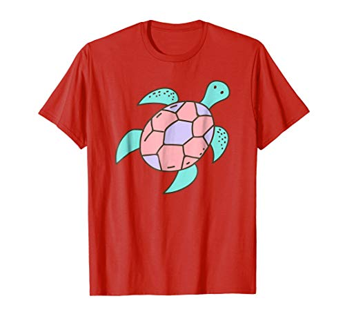 Cute Cartoon Turtle Art | Sea Turtle Lover T-Shirt & Gift