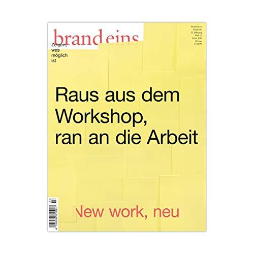 brand eins audio: Arbeit Titelbild