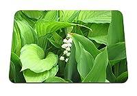 22cmx18cm マウスパッド (ムゲの花花サクラソウ春) パターンカスタムの マウスパッド