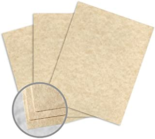 Astroparche Aged Card Stock - 8 1/2 x 11 in 65 lb Cover Vellum 30% Recycled 250 per Package