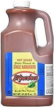 El Yucateco Hot Sauce 2 Liter/Half Gallon (67.63 fl. oz.) (RED HABANERO)