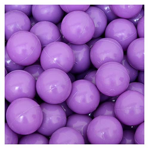 LittleTom 50 Bolas de PE 5,5cm de diámetro para llenar Piscinas de niños Morado