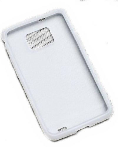 Silikon TPU Cover Case Handy Hülle Schale in Weiß - für Sony Ericsson Xperia Mini Pro SK17i