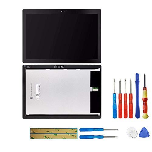 swark LCD Display Kompatibel mit Lenovo Tab M10 / Tab 5 Plus TB-X605L TB-X605F TB-X605M TB-X605 (Schwarz Ohne Rahmen) Touchscreen Replacement + Tools