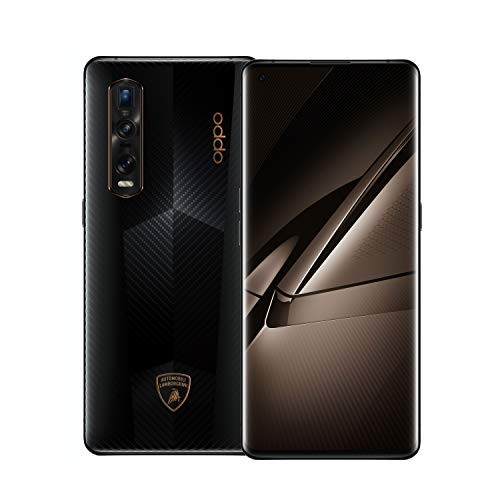 OPPO Find X2 Pro Lamborghini [Limited Edition] Smartphone (17 cm (6,7 Zoll)) 512 GB int Speicher, 5G, 12 GB RAM, 4260mAh, 120 Hz Display, Ultra-Vision-Kamerasystem) [Exklusiv bei Amazon], Schwarz/Gold