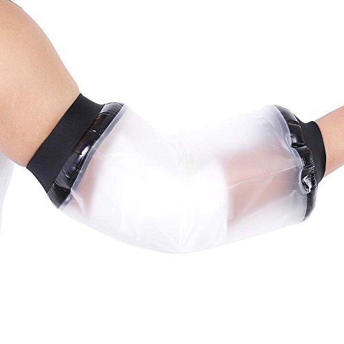Wasserschutz für Arm-Ellenbogenschutz, für Badewanne Dusche verletzter Arm, Wundabdeckung, hält die Wunde und verletzte Teile trocken, waschbar, wiederverwendbar