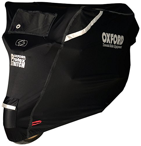 Oxford CV163 Protex Stretch-Fit Outdoor Motorcyle Cover (X Large)
