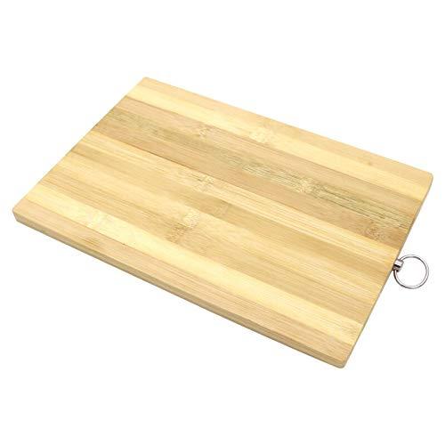 Tabla de Cortar de bambú Jaswehome, Tabla de bambú Ligera y orgánica para Cocina, Tabla para Cortar, Utensilios de Cocina de Madera de Bambú.