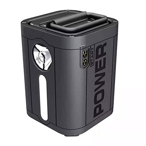 AJIU Central Eléctrica Portátil Generador De 26800 Mah Fuente De Alimentación Recargable Múltiple con Toma De Corriente CA, Puertos USB Y Linternas LED para Viajes, Exteriores, Acampada, Emergencia