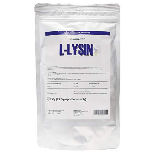 Pharmasports L Lysin 250g Beutel