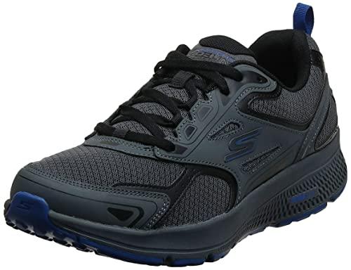 Skechers GOrun - Tenis de Entrenamiento para Hombre, con Espuma refrigerada por Aire, Carbón de leña, Azul, 9.5 US