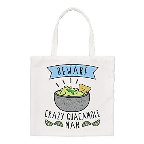 Gift Base Hüten Sie Sich Vor Verrückt Guacamole Man Regular Tragetasche