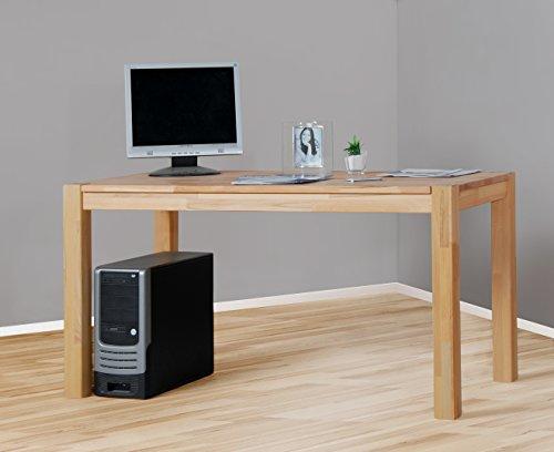 Schreibtisch Computertisch Esstisch in Kernbuche geölt 4512-1