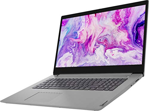 Lenovo - IdeaPad 3 17' Laptop - AMD Ryzen 7 3700U - AMD Radeon Vega 10 - Platinum Grey12GB DDR4 RAM, 128GB PCIE SSD, 1TB HDD, Bundle with Woov Accessories - Windows 10 Home