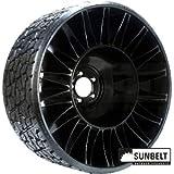 (1) Michelin X Tweel Turf Tire Assembly 24x12.00-12 Fits Zero Turn Mowers
