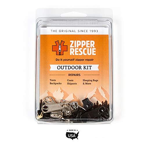 Zipper Rescue Zipper Repair Kits – The Original Zipper Repair Kit, Made in America Since 1993 (Outdoor)