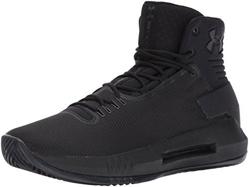 Under Armour UA Drive 4 - Zapatillas de Baloncesto para Hombre, Color Naranja (800), Color Negro, Talla 39.5 EU