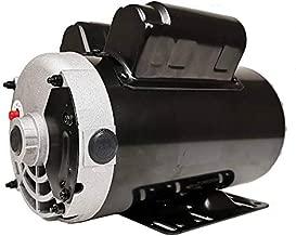 TUOKE Air Compressor Electric Motor 3.5 HP 1 Phase 3450 RPM, 56 Frame, 230V, 16.2F.L.A 5/8