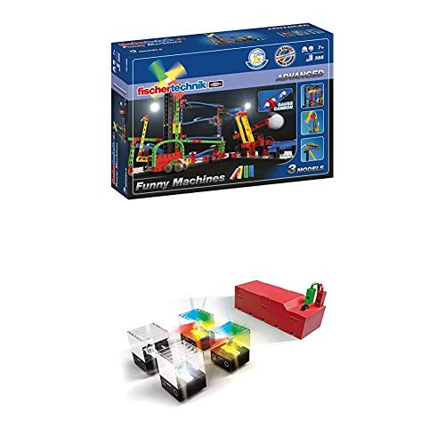 Fischertechnik Funny Machines + LED Set