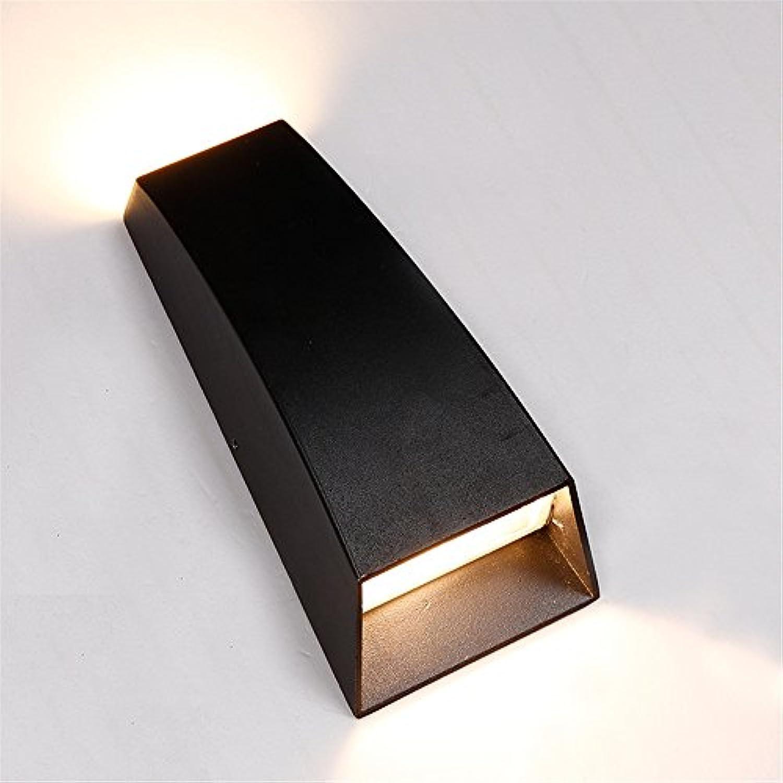 Modern LED Wandleuchte Wasserdichte LED der kreativen Persnlichkeit im Freien auf und ab beleuchtet Gartendekorationbeleuchtung rechteckige Wandlampe 170  85  50mmHaus, Bar, Restaurants.