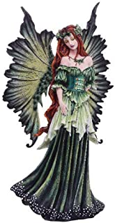 """Pacific Giftware Large 18"""" Tall Fantasy Lady of the Forest Fairy Decorative Statue by Artist Amy Brown"""
