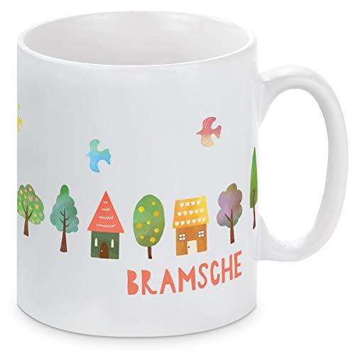 Titelheld Bramsche Tasse Häuser
