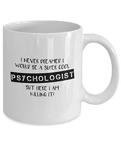 Maxwell546 Psychologisten-Geschenk, Psychologie-Geschenk, Psychologistin, Kaffeetassen, Psychologie-Geschenke, witzige Psychologie-Kaffeebecher, Psychologie-Student