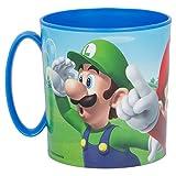 OTRA 3161; Taza Super Mario; Producto de plástico, Reutilizable; Apta para microondas; Libre BPA; Capacidad 350 ml