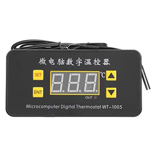 Eujgoov ‑55~120 ℃ Temperaturregler-Digitalanzeige Hohe Genauigkeit im Bereich Inkubation und Gerätegehäuse