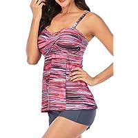 Generic Women's Two Piece Swimsuits with Boyshort Tankini