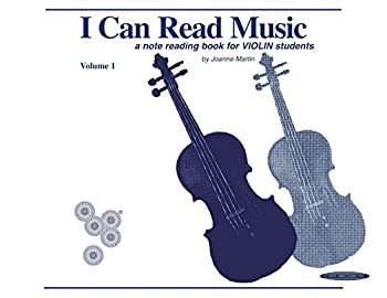 I Can Read Music Volume 1  A note reading book for VIOLIN students