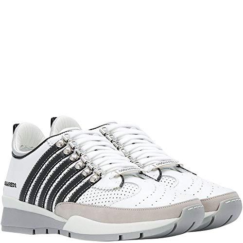 Dsquared 2 zapatillas de correr DSquared2 multirayas, color Marfil, talla 40 2/3 EU
