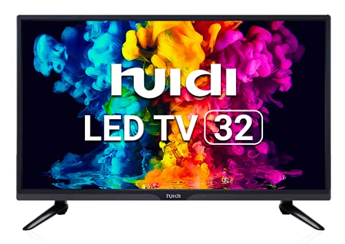 Huidi 80 cm (32 Inches) HD Ready LED TV HD32D1M19 (Black) (2021 Model)