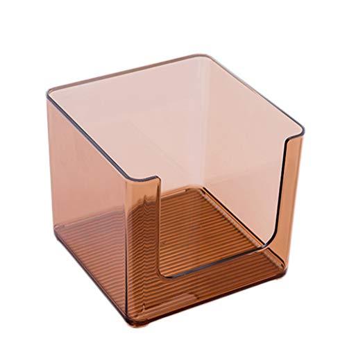 Coffret d'étalage Simple de Stockage de Produits de Soins de la Peau de Bureau Acrylique Transparent de Bureau cosmétique de boîte de Rangement FANJIANI (Color : A, Size : 33 * 16.5 * 14.6cm)
