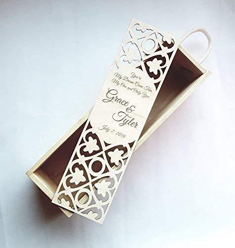 bridesmaid gift box  mothers day gift wedding box jewelry box  trinket box wedding gift box gift box laser cut box