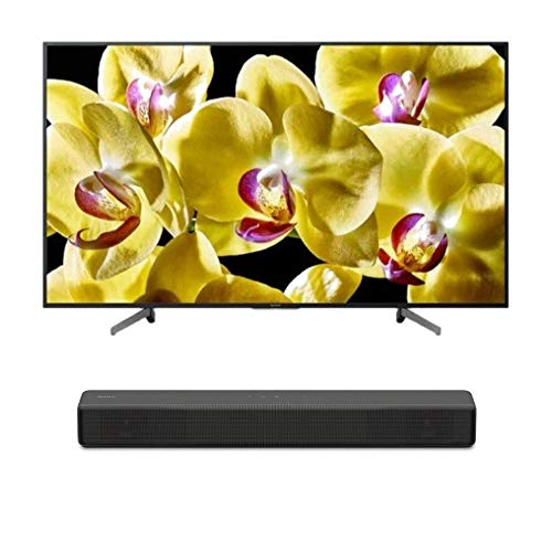 """Sony XBR-49X800G BRAVIA XBR49X800G Series - 49"""" Class (2019 Model) with SONY HT-S200F 2.1 Channel Soundbar with Integrated Subwoofer Bundle"""