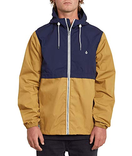 Volcom Herren Howard Hooded Jacke, Bronze, XL