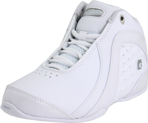 AND1 Rocket 2.0 Mid Kids, Zapatillas de Baloncesto Niños Unisex, Blanco (White/White/Silver), 36.5 EU