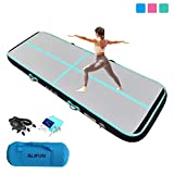 Air Track Inflatable Gymnastics Tumble Track Gym Mat 10ft 13ft 16ft 20ft for Toddler Adults, Gym Air...