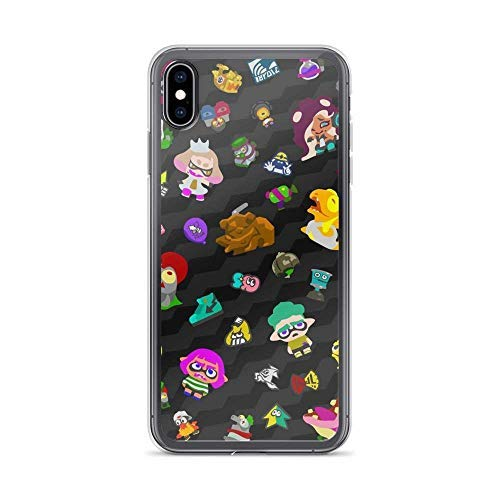 Compatible with iPhone 7/8 Case Splatoon Inkling Girl Shooter Game Pure Clear Phone Cases Cover (iPhone 11 pro max)