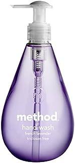 メソッドフレンチラベンダーの354ミリリットル x4 - Method French Lavender Handsoap 354ml (Pack of 4) [並行輸入品]