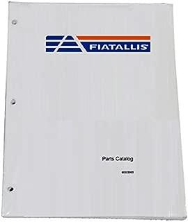 FIAT ALLIS FR10B Wheel Loader Parts Catalog Manual - Part Number # 73155521