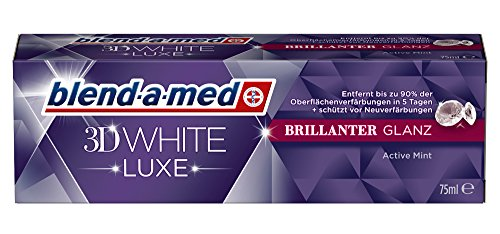 Blend-a-med 3D White Luxe Brillanter Glanz, 2er Pack (2 x 75 ml)