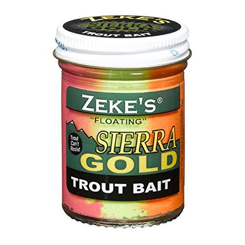 Atlas Mike's Zeke's Sierra Gold Floating Fishing Trout Bait, Rainbow,...