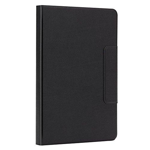 Domybest Universal Slim aluminium Bluetooth toetsenbord houder voor 9-10 inch tablets (met touchpad)