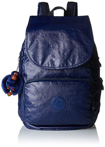 Kipling - Cayenne, Mochilas Mujer, Blau (Lacquer Indigo), 27x37x19.5 cm (B x H T)