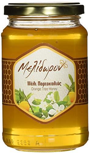 Melidoron Roher Griechischer Orangenblütenhonig 450 g, 2er Pack