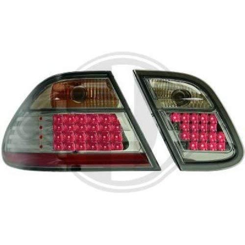 in.pro. 1625997 HD Rückleuchten LED klar CLK Klasse W208 97-02, schwarz